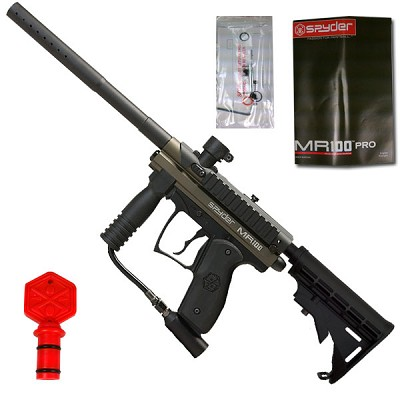 Spyder MR100 Pro Paintball Gun Olive Green