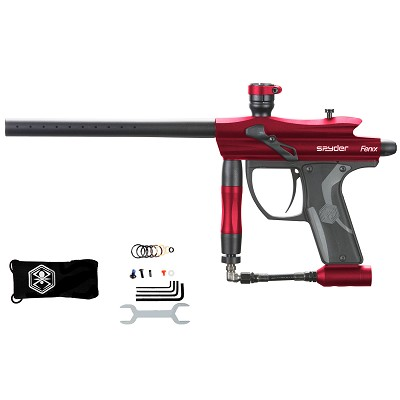 Spyder Fenix Paintball Gun Gloss Red