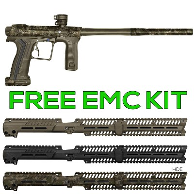 Planet Eclipse Etha 2 Paintball Marker HDE Earth w FREE EMC Kit