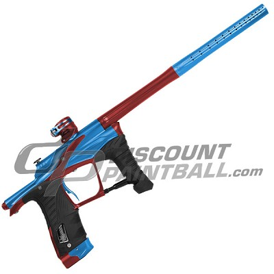 Planet Eclipse Ego LV1 Paintball Gun Blue / Red