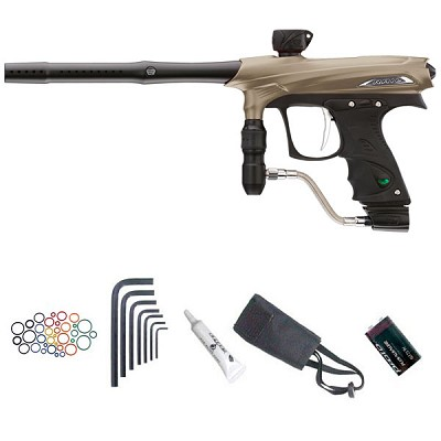 Proto Rail Paintball Marker - Tan Dust