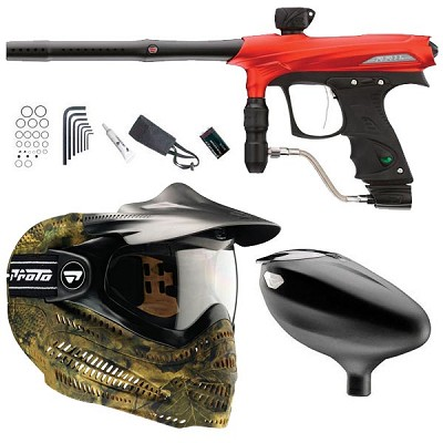 Proto 2011 Rail Paintball Marker Combo B- Red Dust