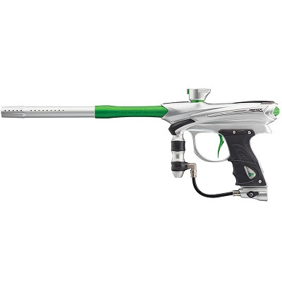 2014 Proto Reflex Rail Paintball Gun - Clear/Lime