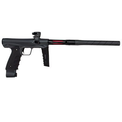 SP Shocker CVO Paintball Gun Dust Pewter with Gloss Black Accents