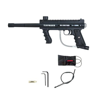 Tippmann 98 Custom ACT Platinum Series Paintball Gun Black