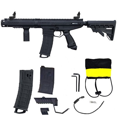 Tippmann Stormer Elite Dual Feed Paintball Marker Black