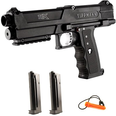 Tippmann TiPX Paintball Gun Pistol - Black