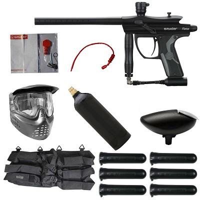 Spyder Fenix Paintball Starter Package Diamond Black