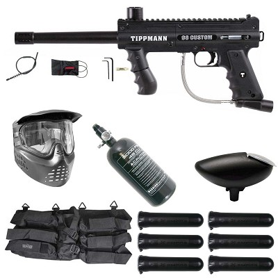 Tippmann 98 Custom Platinum Series Ultra Basic Paintball Rookie Package