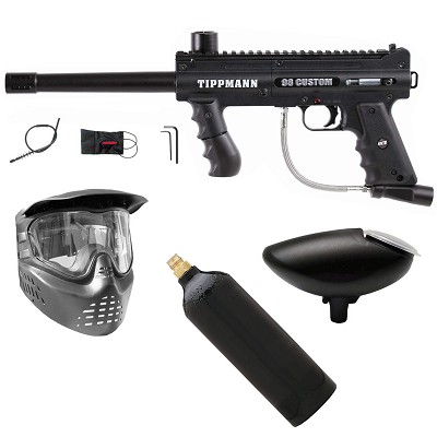 Tippmann 98 Custom ACT Platinum Series Gun Package #3 (Goggle, 20oz & Hopper)