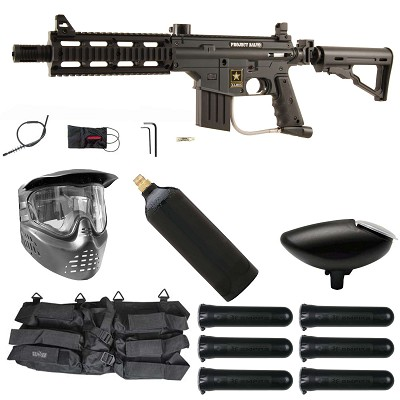 Tippmann US Army Project Salvo Paintball Starter Package