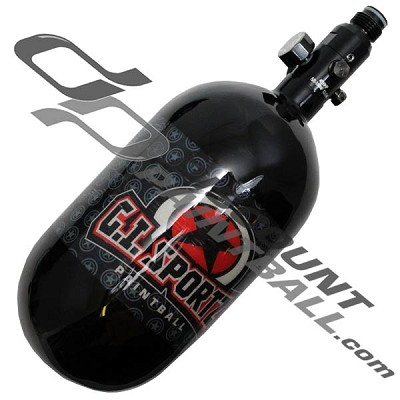 G.I. Sportz 68 ci 4500 psi Carbon Fiber Compressed Air Paintball Tank