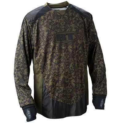 BT 2011 Combat Paintball Jersey Woodland Digital - XLarge