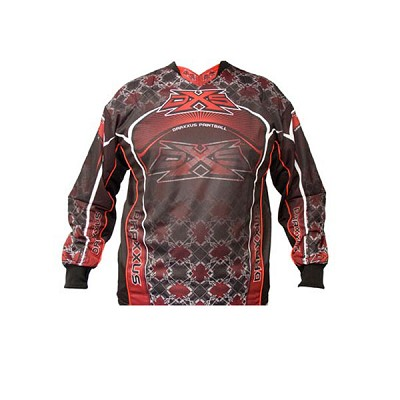 Draxxus DXS 08 Shank Paintball Jersey Red Large