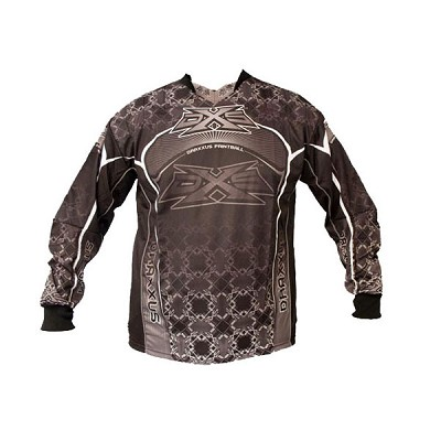 Draxxus DXS 08 Shank Paintball Jersey Grey XL