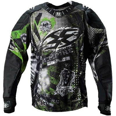 Empire 2013 Contact LTD THT Paintball Jersey Alpha Lime