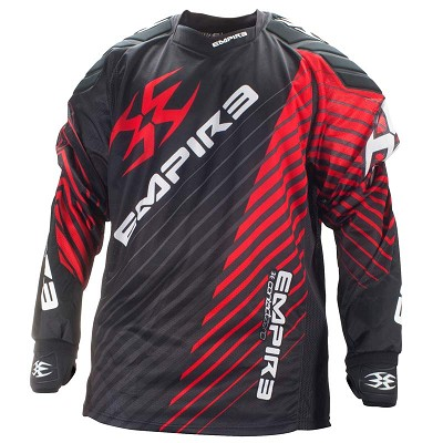 Empire 2014 Contact Zero Paintball Jersey FT Red