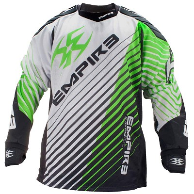 Empire 2014 Contact Zero Paintball Jersey FT Lime