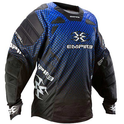 Empire 2012 Contact TW Paintball Jersey Blue
