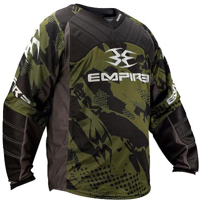 Empire 2012 Prevail TW Paintball Jersey Olive