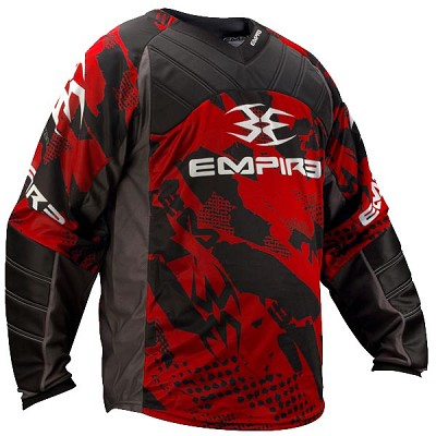 Empire 2012 Prevail TW Paintball Jersey Red