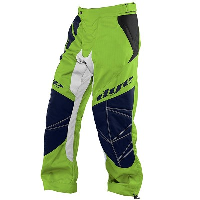 Dye C14 Paintball Pants 2014 Ace Lime Navy