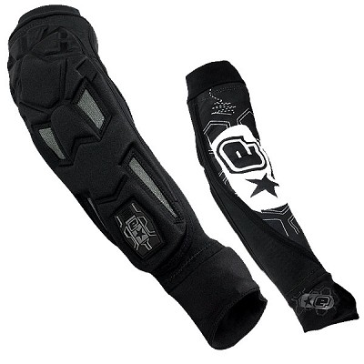 Planet Eclipse 2011 Overload Paintball Elbow Pads Black