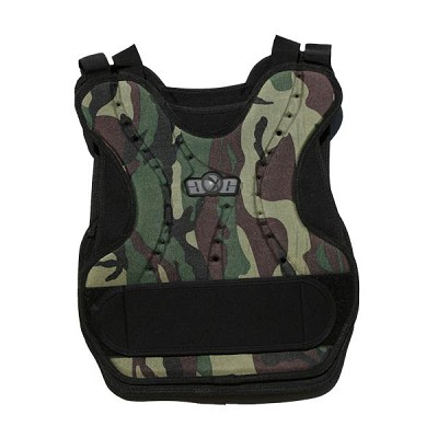 GXG Paintball Chest Protector Woodland