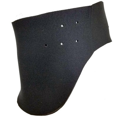 Paintball Neck Protector Wide Black
