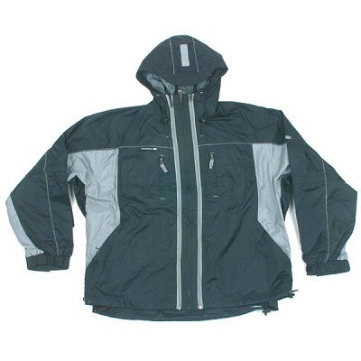 Empire Tech Rain Jacket Gray - XL