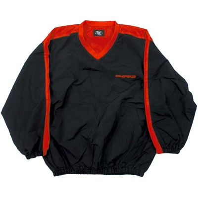 Empire Morning Session Pullover Shirt Black/Red