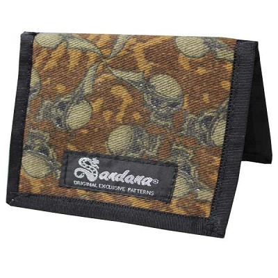 Sandana B.A.M.F. Wallet Brown FlyingSkull