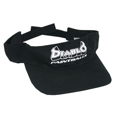 Diablo Visor Black - Adjustable