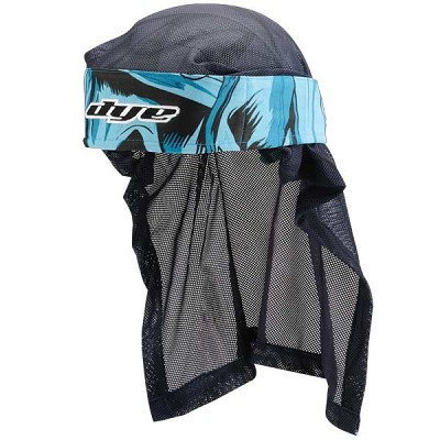 Dye C12 Paintball Head Wrap 2012 - Cloth Blue