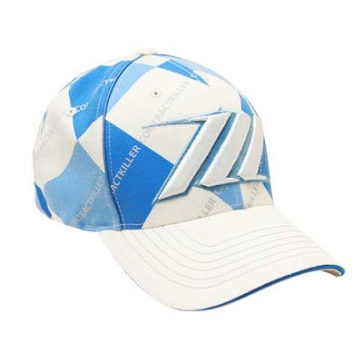 Hybrid Wigglets 08 Fitted Hat Argyle Blue Large/XLarge