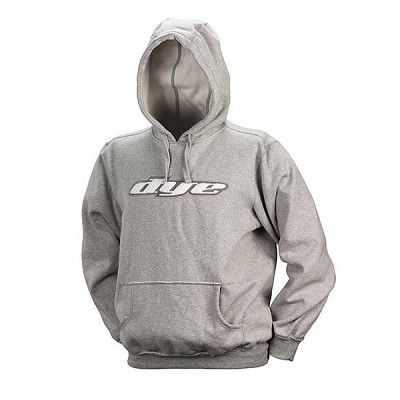 Dye 2010 Iconic Hooded Paintball Sweatshirt Light Gray