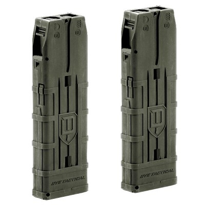 Dye Assault Matrix 20 Round Magazine Dual Pack Olive