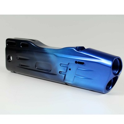 PMI Piranha Body Evo (DZD) - Blue/Black Fade Polished *No Feedneck*