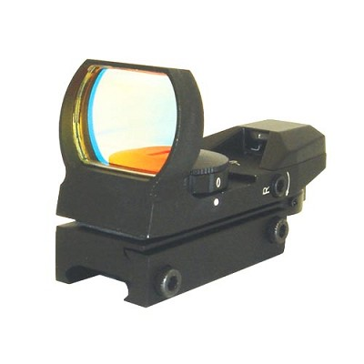 NcSTAR Tactical Paintball Red/Green Dot Sight 4 Recticle Weaver Mount Black D4RGB