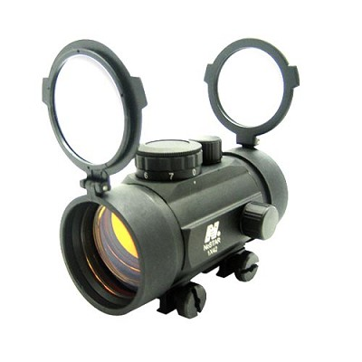 NcSTAR Paintball Red Dot Sight 1x42 Weaver Mount DBB142