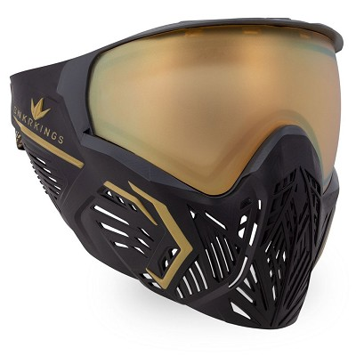 Bunker Kings CMD Thermal Paintball Goggles Supreme Gold