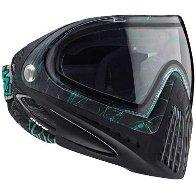 Dye I4 Thermal Paintball Goggles 2013 - DyeTree Aqua