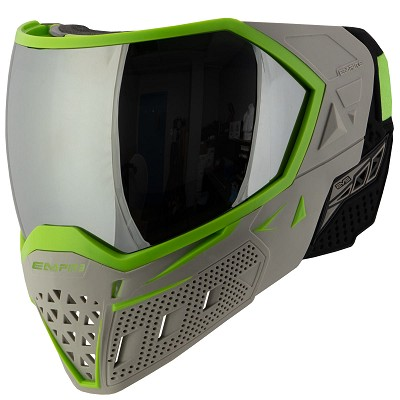 Empire EVS Thermal Paintball Goggles Team Edition Elevation Grey/Lime