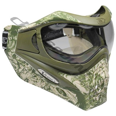 VForce Grill LTD Paintball Goggles Dual Tan Zombie