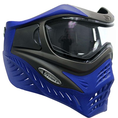 VForce Grill Paintball Mask Thermal Grey Blue Azure