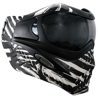 VForce Grill Paintball Mask Thermal SE Zebra