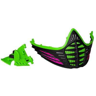 Virtue VIO Facemask Lime Pink Black