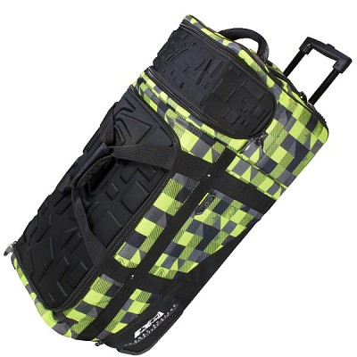 Planet Eclipse 2013 Classic Paintball Gear Bag Plaid Lime