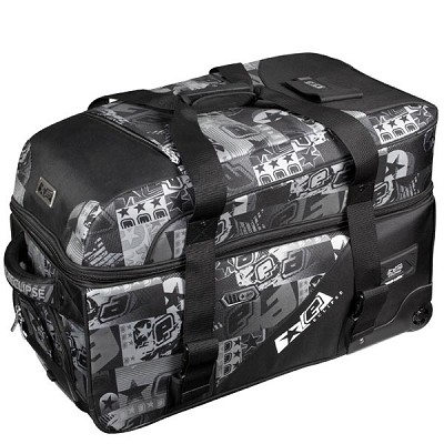 Planet Eclipse 2013 Split Compact Paintball Gear Bag E Logo Grey