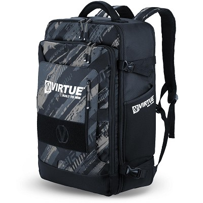 Virtue Gambler Backpack and Gear Bag Graphic Black